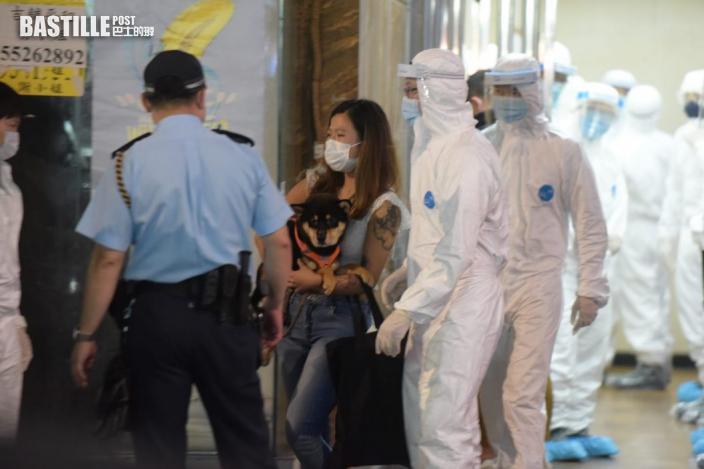 尖沙嘴美園大廈印度來港患者確診變種病毒 所有居民撤離檢疫21天