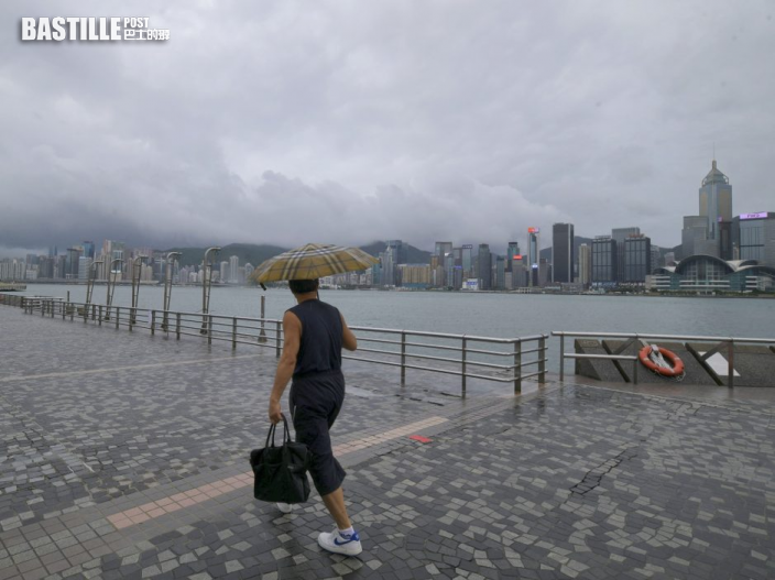 今日大致多雲 局部地區有驟雨