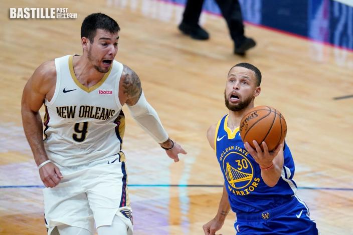 【NBA】居利轟入四十一分 領勇士挫塘鵝上第八