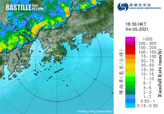 【放工注意】強雷雨區襲港 天文台料廣泛地區大雨