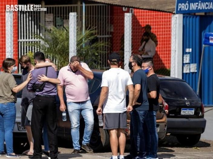 巴西南部青年闖託兒所 亂刀斬死3幼童及2職員