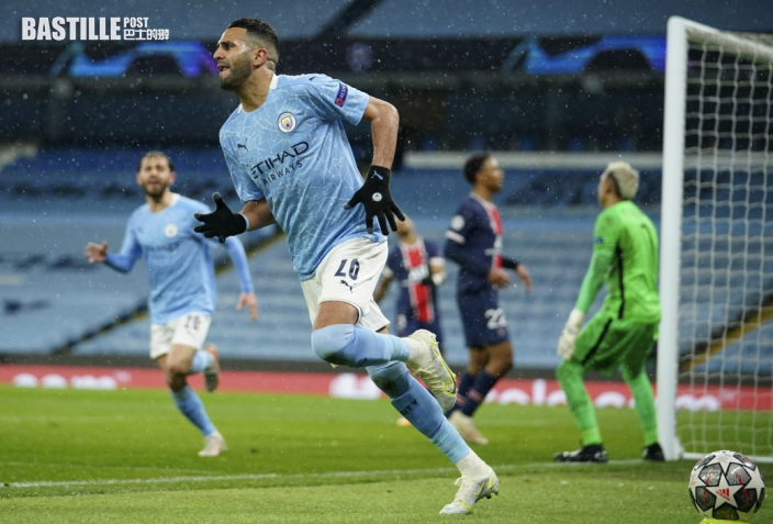 【歐聯】馬列斯梅開二度 曼城2:0破PSG首次入決賽