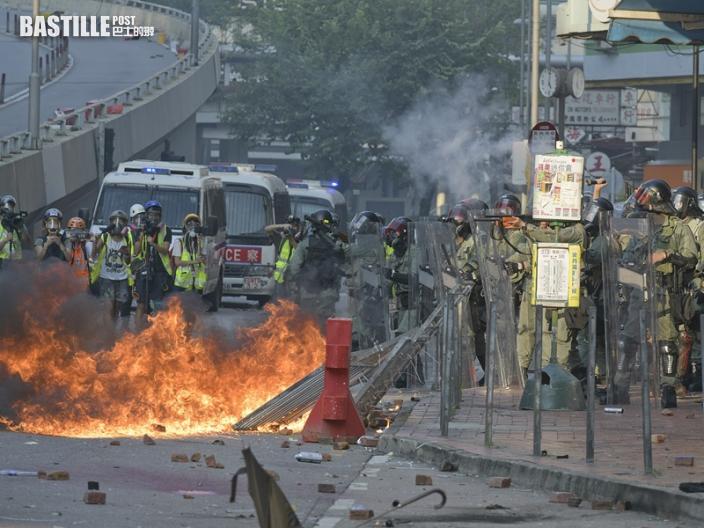 【國慶示威】4男女涉暴動及縱火罪成 押下午判刑