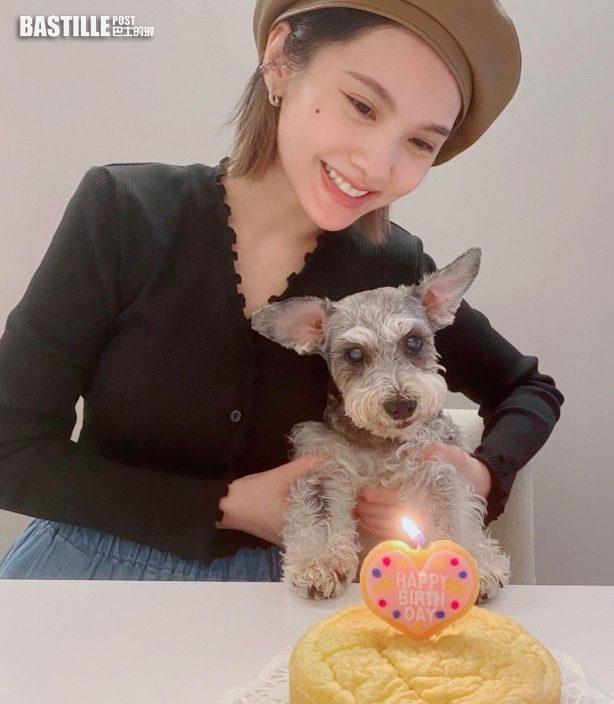 為Yumi慶祝16歲生日 楊丞琳心痛愛犬有認知障礙
