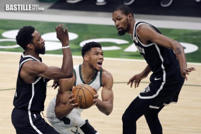 【NBA】字母哥轟36分 公鹿124:118擊退籃網
