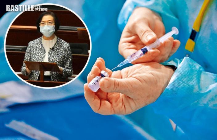陳肇始:考慮採購新一代疫苗及規劃下一輪接種計劃