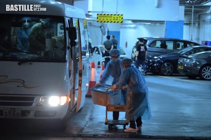 【變種病毒】康怡及豪峰居民仍未完成撤離