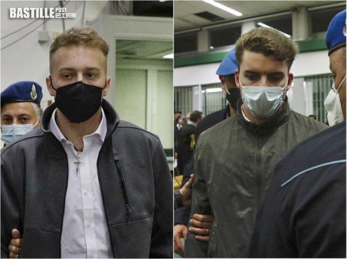 兩名美國青年被控於羅馬殺警罪成 被判終身監禁