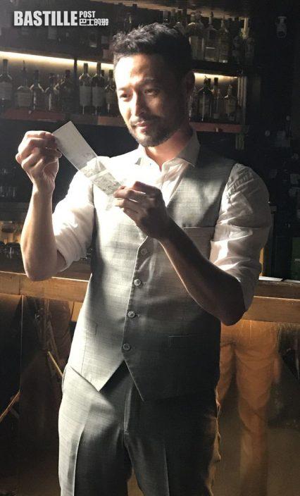 拍廣告豪氣杯杯清 張達倫一晚飲廿杯威士忌