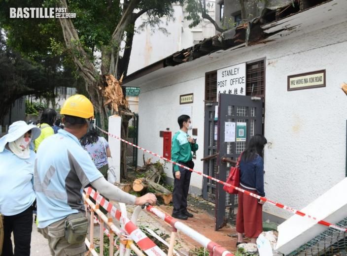 捱撞赤柱郵局無倒塌危險 香港郵政:調查後按機制追討賠償