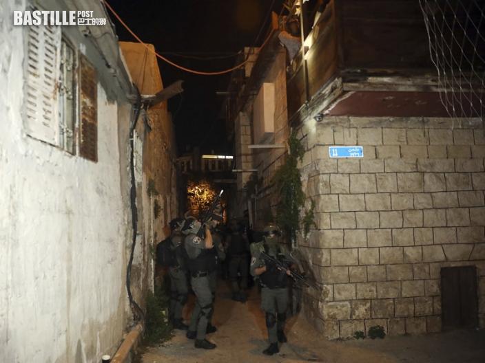 耶路撒冷防暴警與示威者爆激烈衝突 逾百人受傷