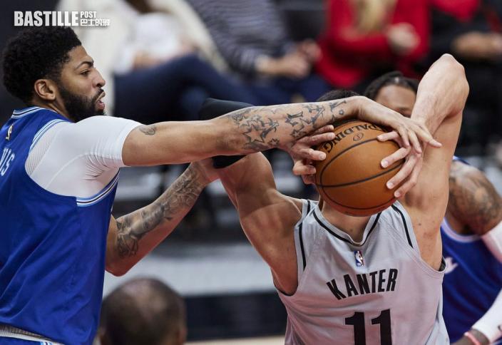 【NBA】湖人不敵拓荒者 跌落西岸第七位