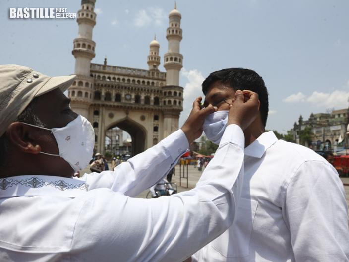 印度再增約40萬宗確診 單日逾4千人死亡