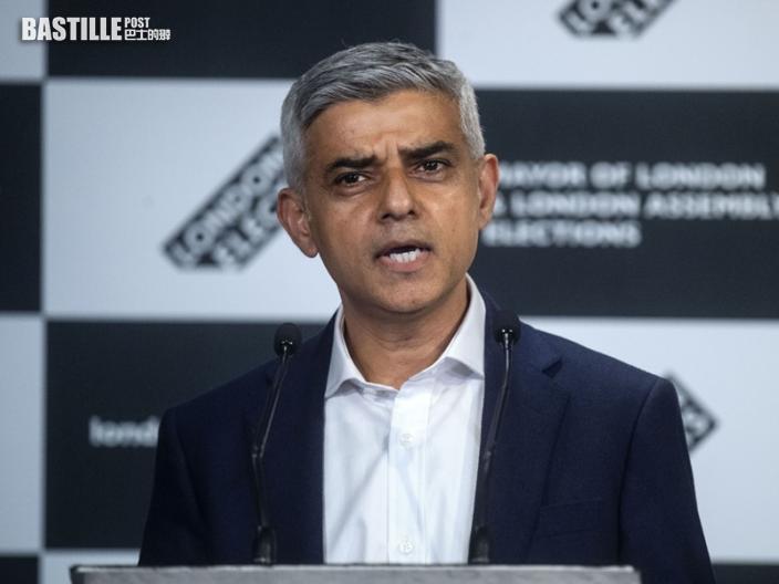 簡世德成功連任倫敦市長 誓言將致力化解脫歐分歧