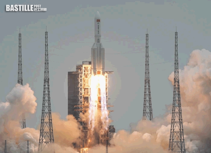 長征五號B遙二運載火箭末級殘骸 已再入大氣層過程中銷毀