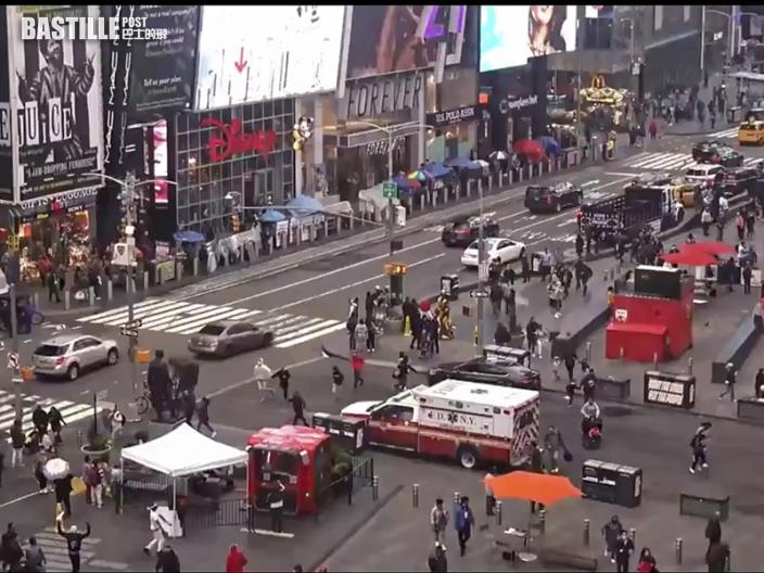 紐約時報廣場發生槍擊案 3人受傷
