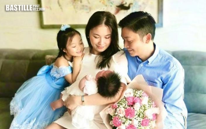 劉倩婷貼一家四照:我最好的母親節禮物是擁有你們