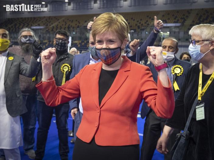 蘇格蘭民族黨贏得大選 獨立公投捲土重來