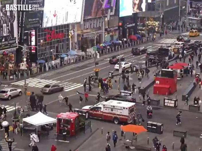 紐約時代廣場爭執傳槍聲 3無辜旁人受傷包括4歲童