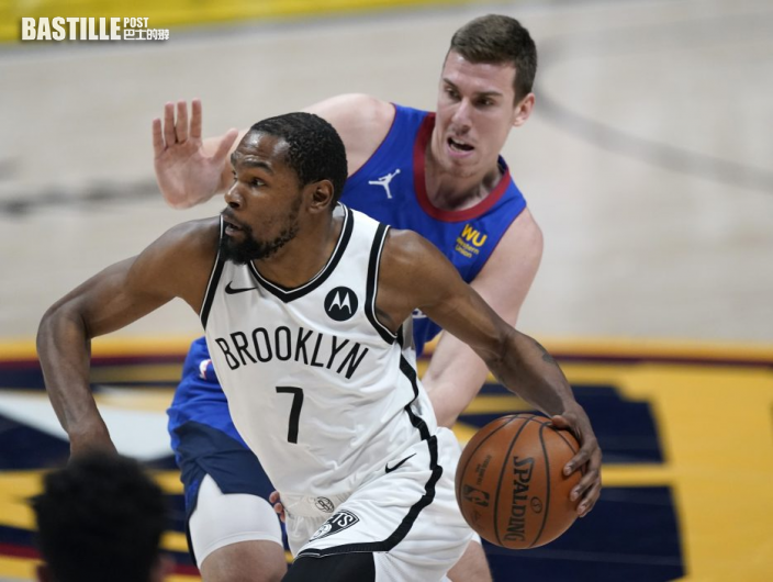 【NBA】杜倫獨取三十三分 領籃網反勝金塊
