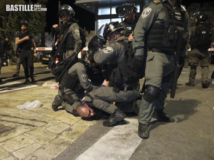 耶路撒冷清真寺再爆警民衝突 至少90傷包括幼童