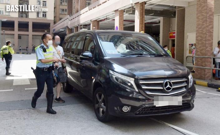 美孚老婦捱撞捲車底 男客貨車司機涉危駕被捕