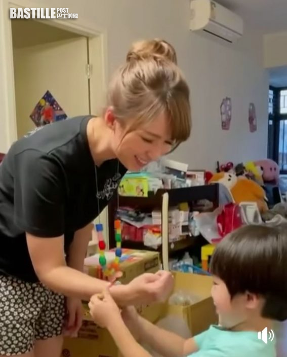 【有驚喜】三歲兒子送DIY飾物 孫慧雪:開心過收鑽石