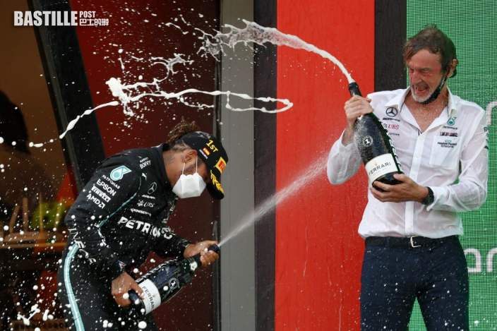 【F1】咸美頓西班牙站封王 連續兩周奪分站冠軍