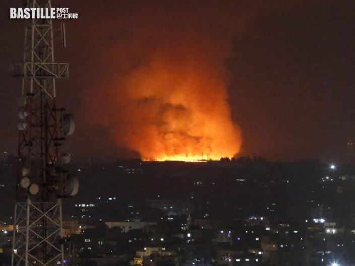 【以巴衝突】以色列空襲哈馬斯據點 巴方至少20死