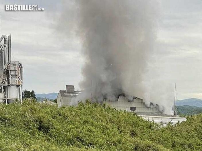 日本福島化工廠爆炸 至少4人受傷