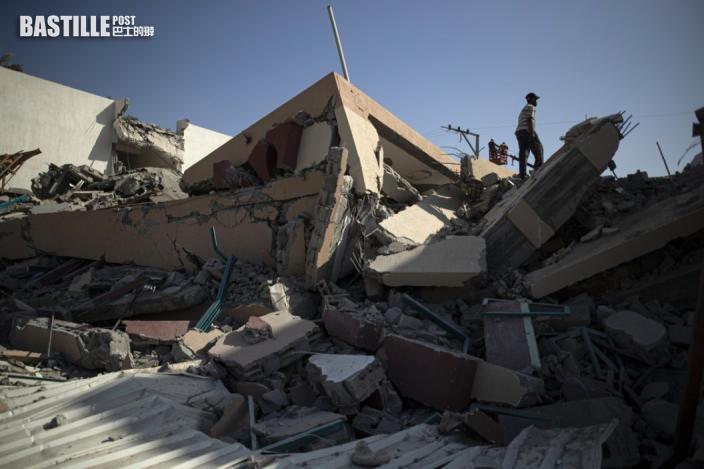 【以巴衝突】以軍空襲擊垮哈馬斯辦公室大樓 遭射130枚火箭還擊