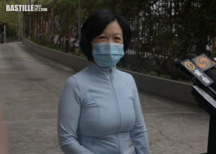 葉劉淑儀表示相信林鄭月娥一定想爭取連任特首