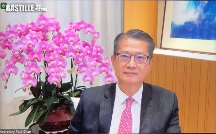 指港區國安法和完善選舉有利營商 陳茂波:銀行體系無明顯資金流出