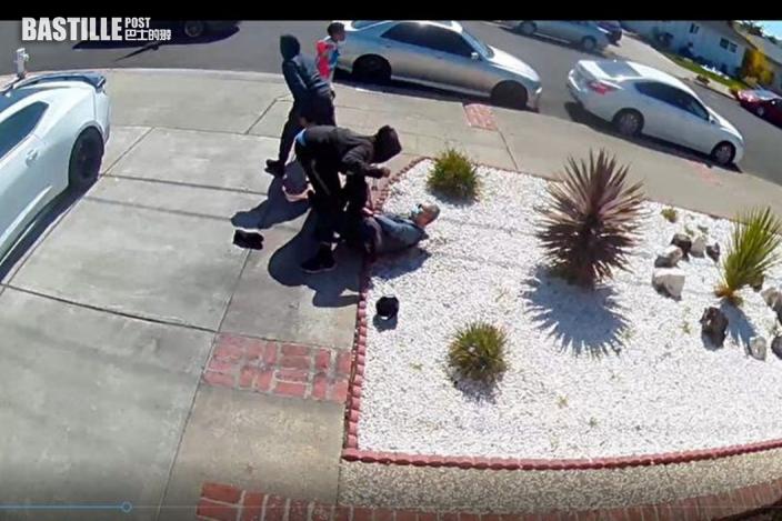 加州八旬亞裔老翁遭兩青少襲擊 遭掌摑及搶劫財物