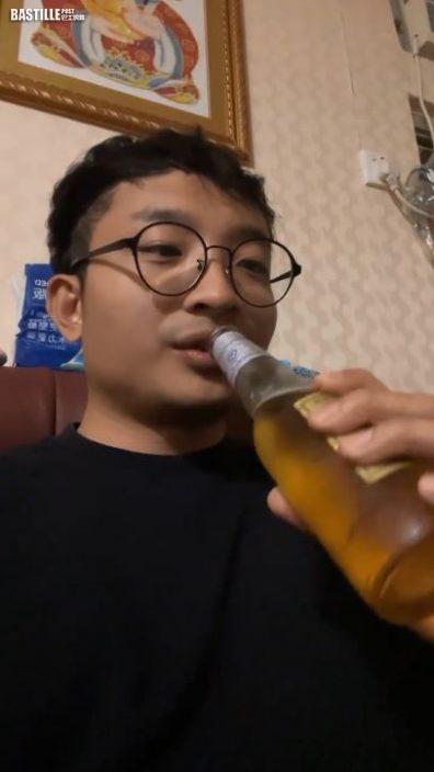 【輕輕一推】隊住支裝啤睇《自肥企画》   阿Dee求推Po搲啤酒廣告