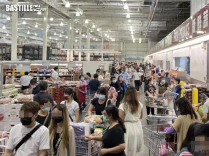 台疫情升溫新北民眾憂封城 多間超市現搶購潮
