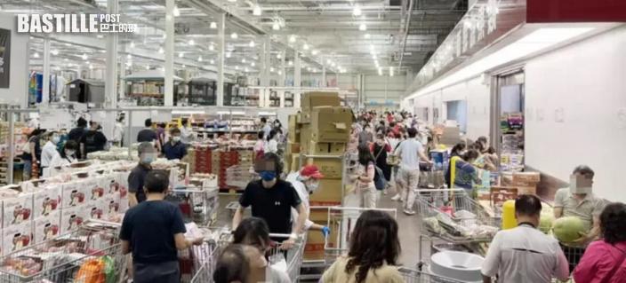 台爆疫慌民眾憂封城掃糧食廁紙 多間超市現搶購潮