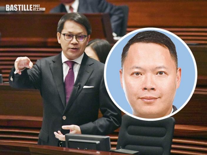 陳克勤:蔡展鵬涉不當行為影響警隊聲譽 停職受查屬理所當然
