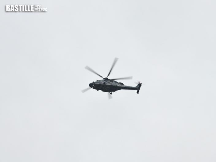 男子大嶼山行山感氣促 直升機送院