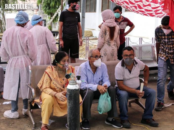 印度新增逾36萬確診 多名醫護打完疫苗仍染疫