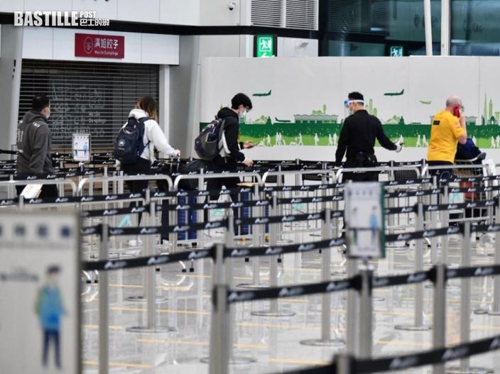 陳肇始指曾逗留台灣抵港人士 須於指定酒店隔離14日