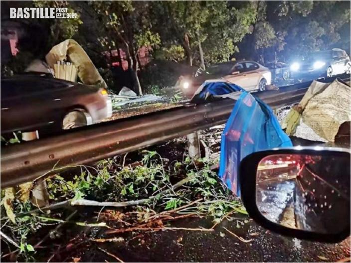 龍捲風吹襲蘇州 多處電力設施及房屋受損