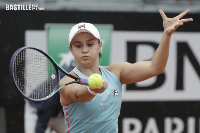 【網球】女網一姐芭迪受傷 退出意大利網賽