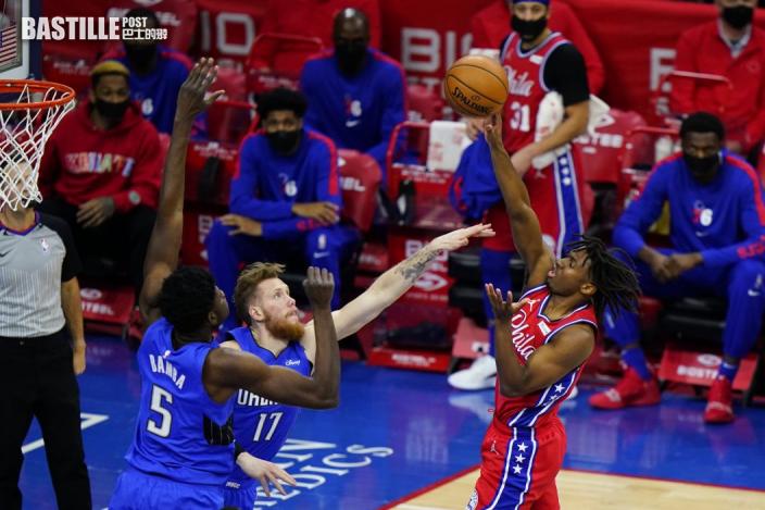【NBA】76人主場122:97炒魔術 廿年來首次排名東岸第一