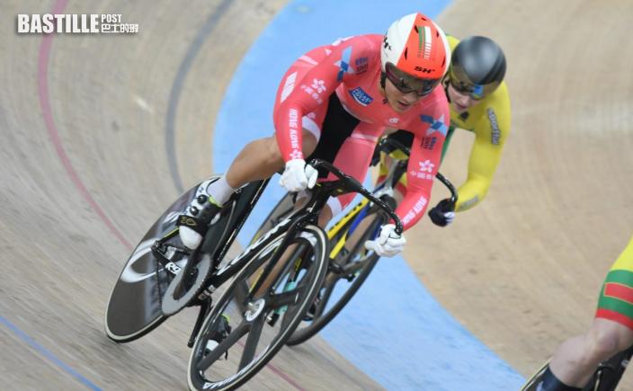 【單車】場地單車國家盃第三天賽事 杜棹熙凱林賽第十名畢業