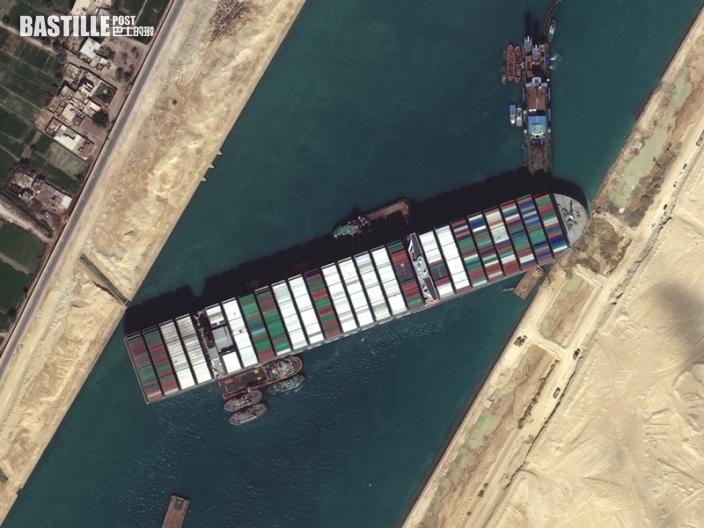 蘇彝士運河南段展開拓闊航道工程 料兩年內完成