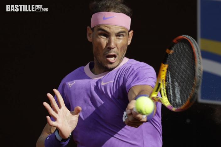 【網球】意大利網球賽 拿度杜高域會師男單決賽
