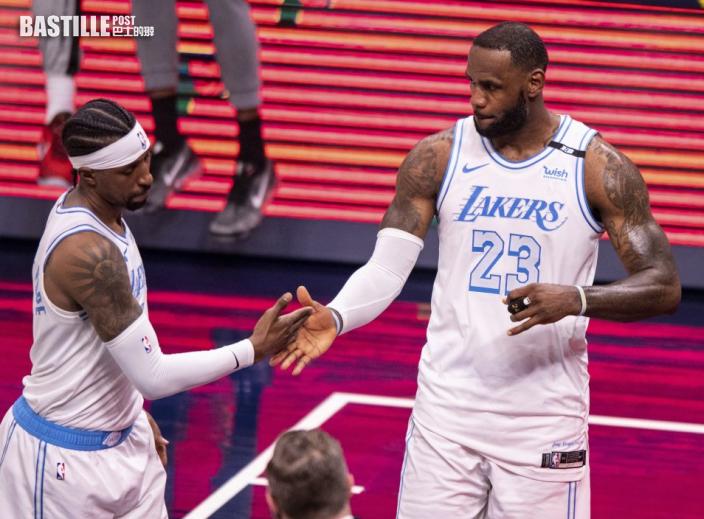 【NBA】占士復出入廿四分 湖人122:115挫溜馬