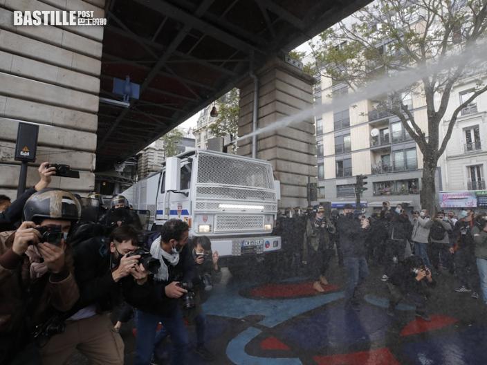 全球多地抗議聲援巴人 部分示威演變警民衝突法拘50人