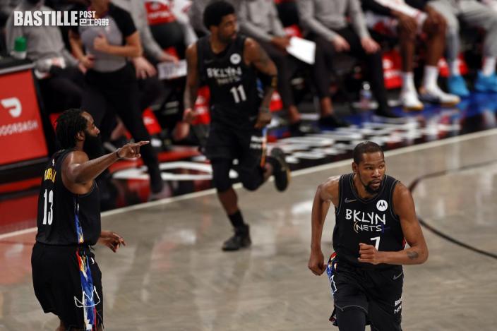 【NBA】籃網三巨頭終合體 領軍105:91擊敗公牛